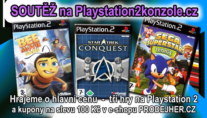 O tři kvalitní hry na Playstation 2